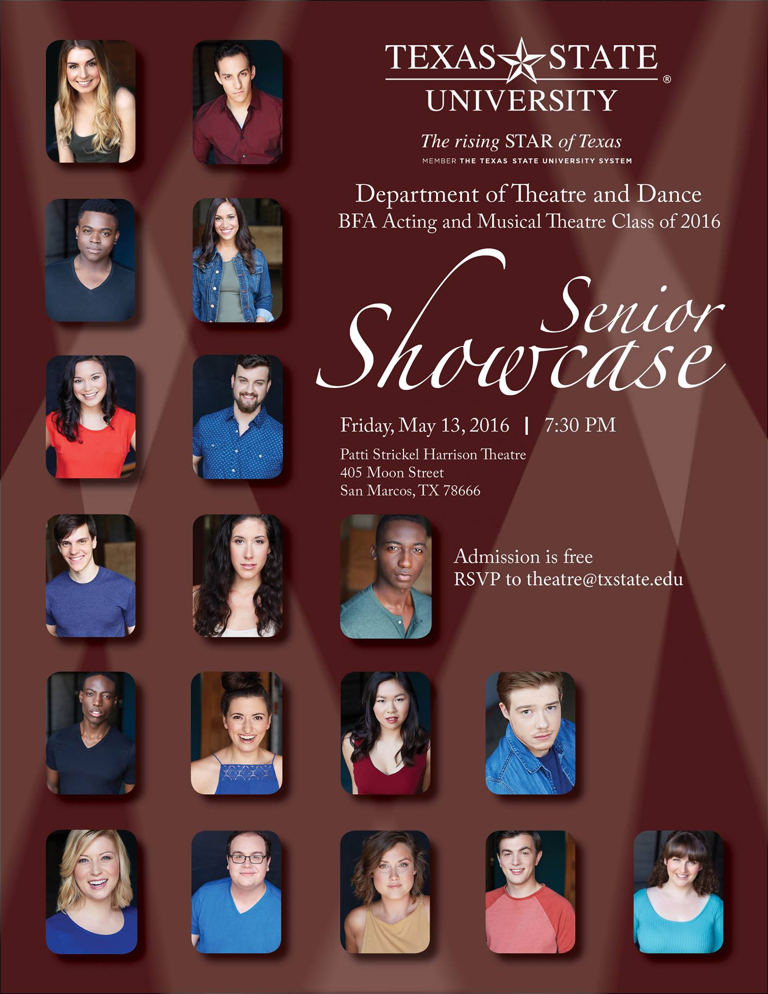 Senior Showcase by Texas State University