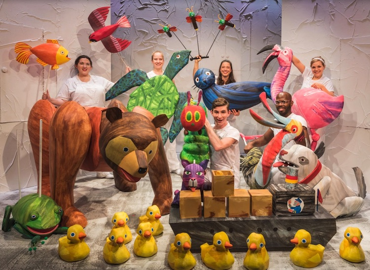 The Very Hungry Caterpillar by touring company