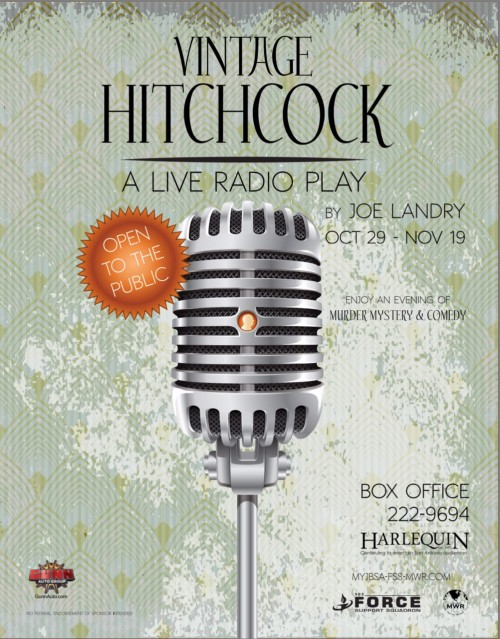 Vintage Hitchcock: A Live Radio Play by The Harlequin