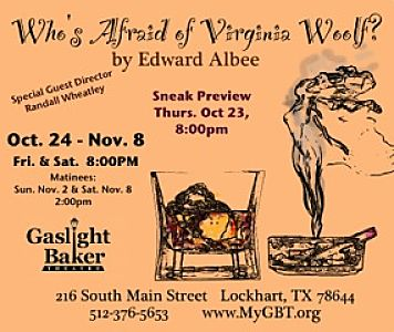 Who's Afraid of Virginia Woolf? by Gaslight Baker Theatre