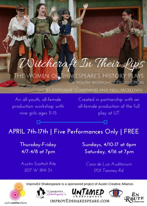 Witchcraft in their Lips (All Female Youth Production) by En Route Productions