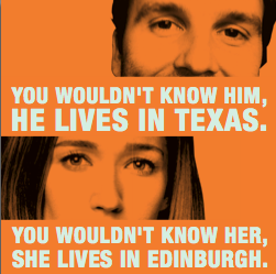 You Wouldn't Know Him/Her, He/She Lives in Austin/Edinburgh (August) by Hidden Room Theatre