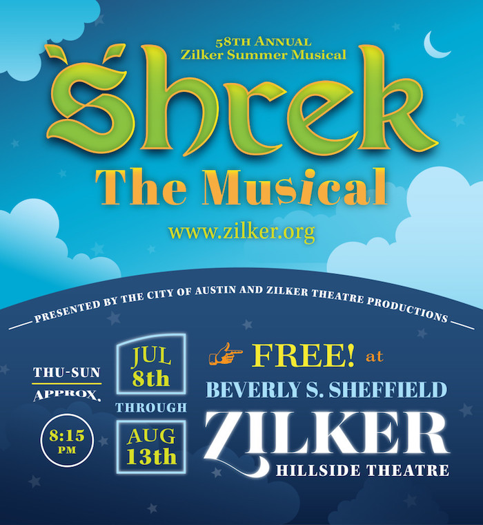 Shrek The Musical by Zilker Theatre Productions